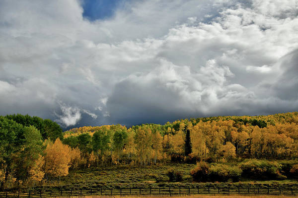 Photograph - Storm Rolls In Over Dallas Divide 15 by Ray Mathis