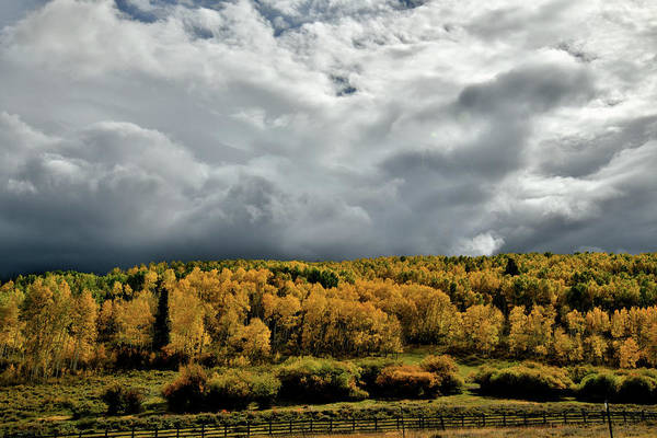 Photograph - Storm Rolls In Over Dallas Divide 19 by Ray Mathis