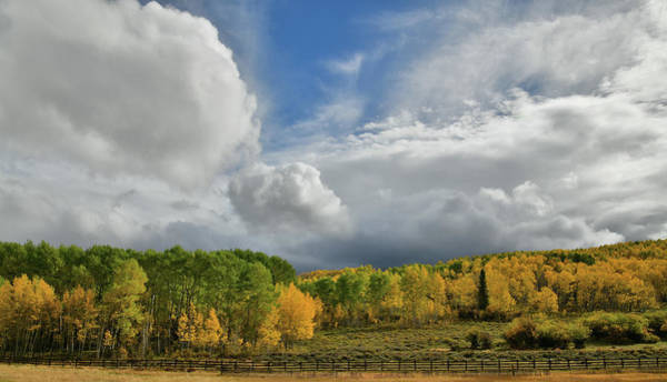 Photograph - Storm Rolls In Over Dallas Divide 2 by Ray Mathis