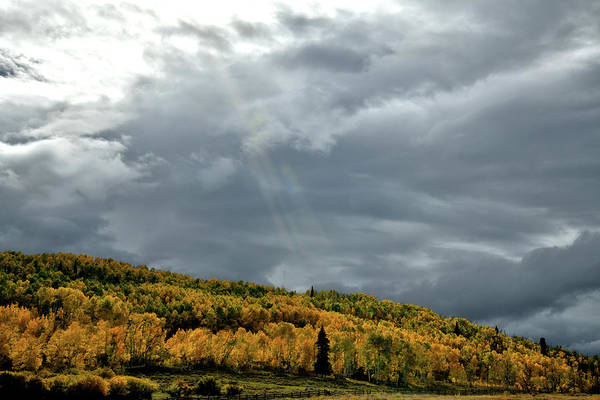 Photograph - Storm Rolls In Over Dallas Divide 20 by Ray Mathis
