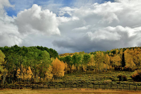 Photograph - Storm Rolls In Over Dallas Divide 4 by Ray Mathis