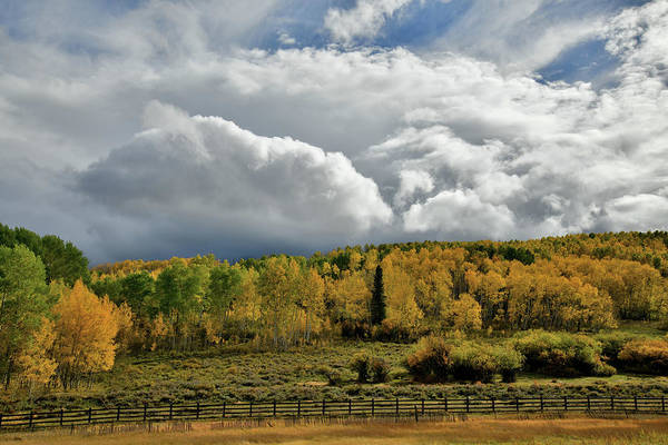 Photograph - Storm Rolls In Over Dallas Divide 5 by Ray Mathis
