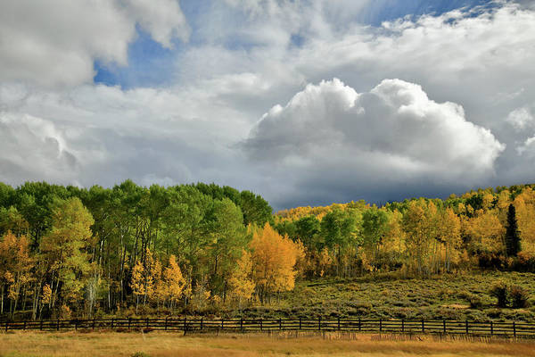 Photograph - Storm Rolls In Over Dallas Divide 6 by Ray Mathis