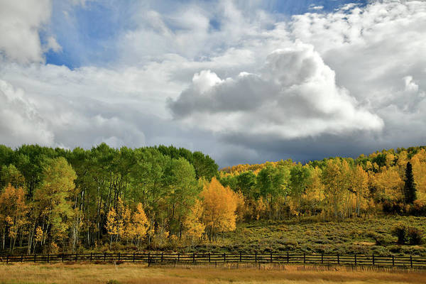 Photograph - Storm Rolls In Over Dallas Divide 7 by Ray Mathis