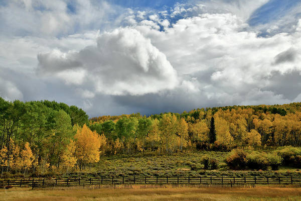 Photograph - Storm Rolls In Over Dallas Divide 8 by Ray Mathis