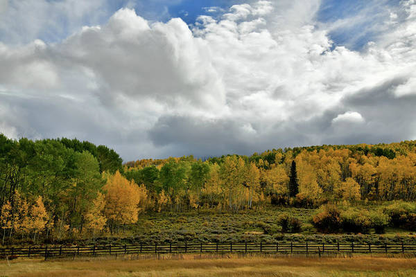 Photograph - Storm Rolls In Over Dallas Divide 9 by Ray Mathis