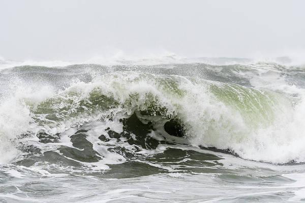 Photograph - Storm Surf Spray by Robert Potts