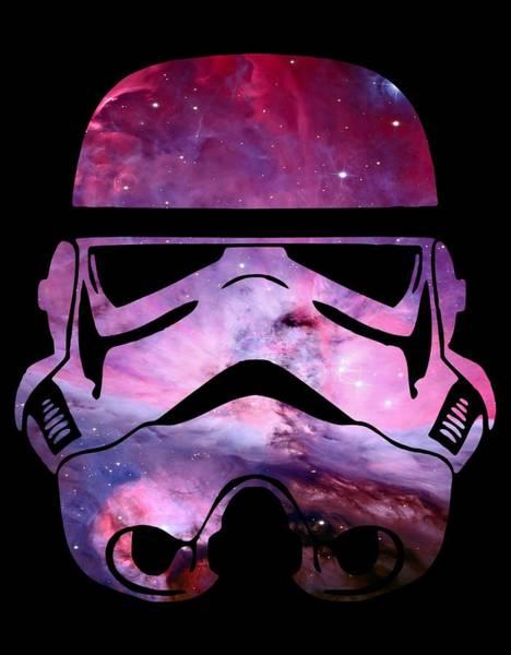 Han Solo Wall Art - Digital Art - Storm Trooper Nebula by Filip Hellman