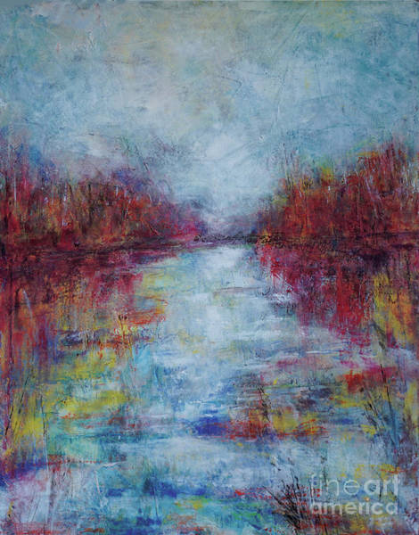 Mixed Media - Stormy Anticipation by Christine Chin-Fook