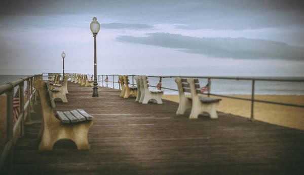 Photograph - Stormy Boardwalk 2 by Steve Stanger