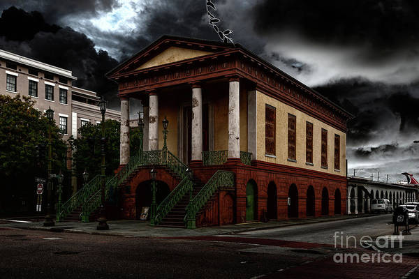 Photograph - Stormy Charleston by Dale Powell
