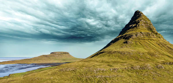 Photograph - Stormy Church Mountain by David Letts