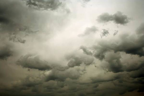 Ugliness Photograph - Stormy Cloudscape by Macroworld