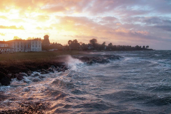Photograph - Stormy Coast by Kim Lessel