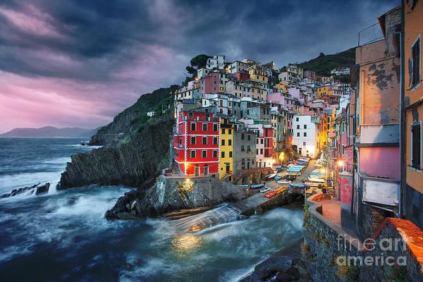 Wall Art - Photograph - Stormy Day In Riomaggiore by İlhan Eroglu