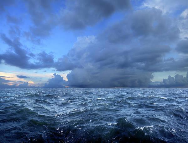 Rain Photograph - Stormy Day On Sea by Imagedepotpro