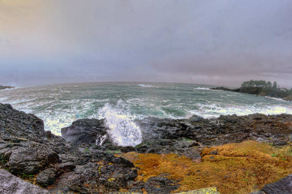 Camera Raw Photograph - Stormy Depoe Bay by Brenton Cooper