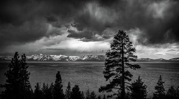 Wall Art - Photograph - Stormy Lake Tahoe by Marnie Patchett