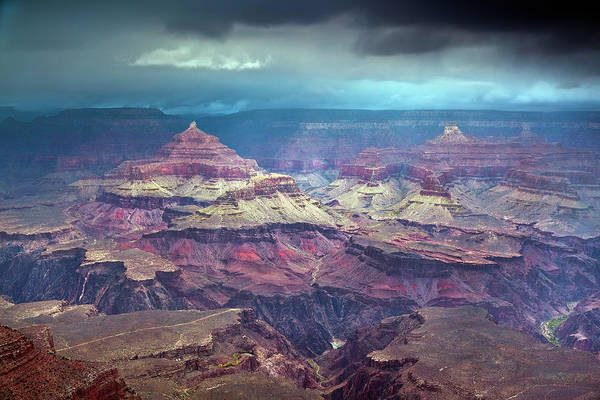 Mather Point Photograph - Stormy Mather Point by Rebecca L. Latson