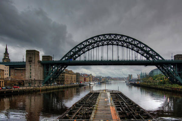 Mixed Media - Stormy Newcastle by Smart Aviation