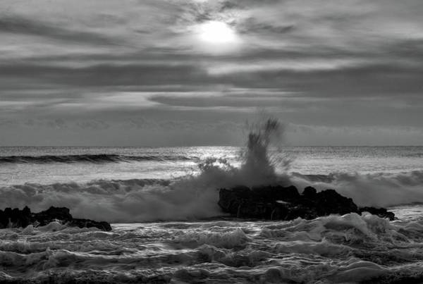 Photograph - Stormy Sea 1 by Steve DaPonte