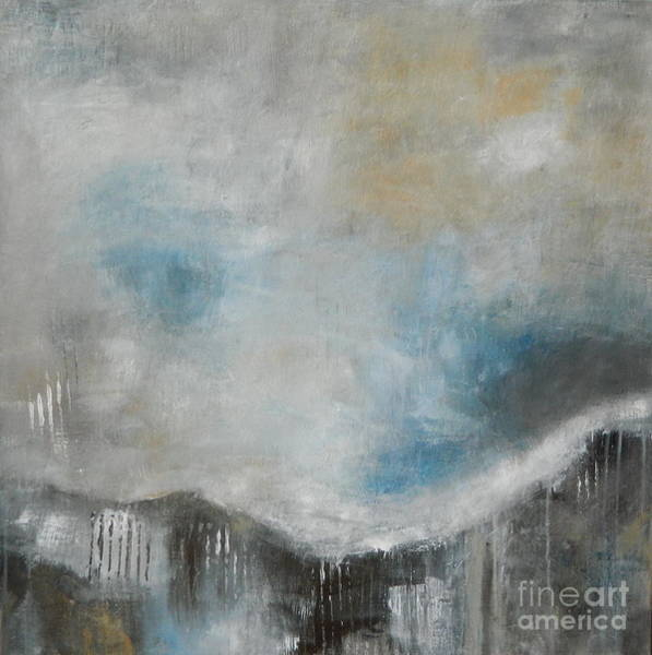 Wall Art - Painting - Stormy Sunday by Kate Marion Lapierre