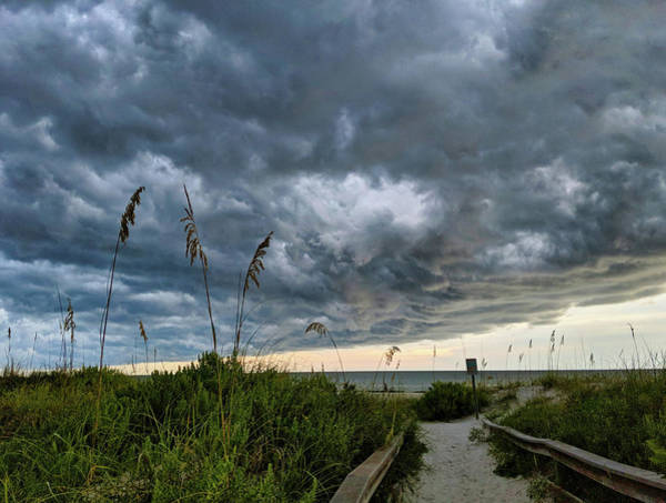 Photograph - Stormy Sunset by Portia Olaughlin