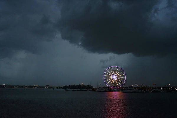 Photograph - Stormy Wheel by David Posey