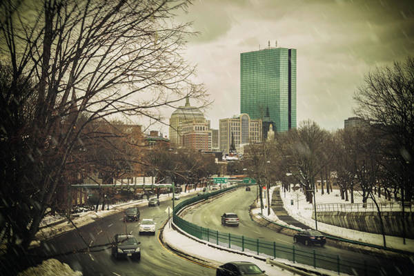 Photograph - Storrow Drive Boston by Joann Vitali