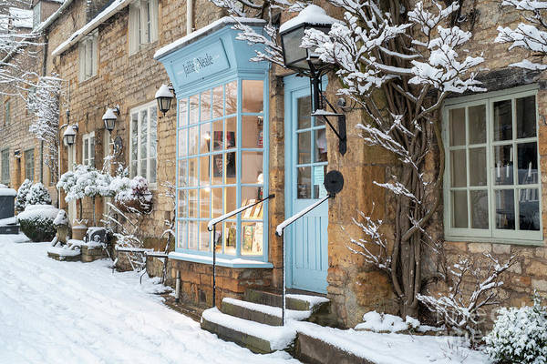 Wall Art - Photograph - Stow On The Wold Winter Street by Tim Gainey