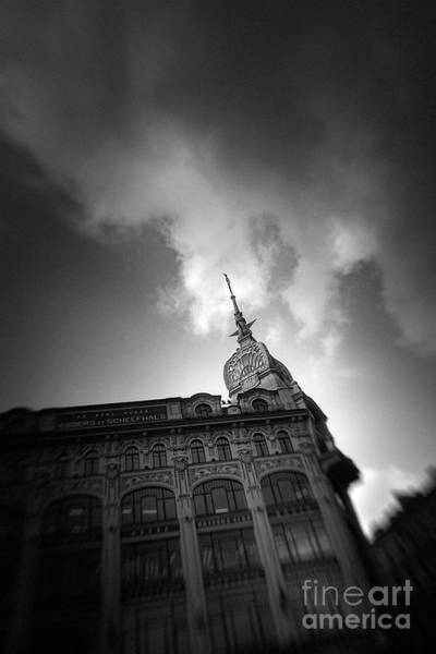 Photograph - St.petersburg #8258 Bw by Andrey Godyaykin