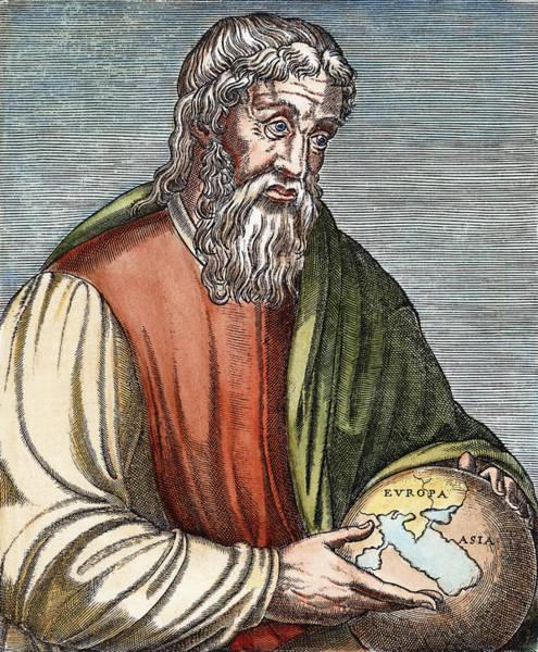Painting - Strabo (63 B by Granger