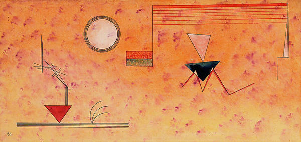 Wall Art - Painting - Straight And Slanted, 1932 by Wassily Kandinsky