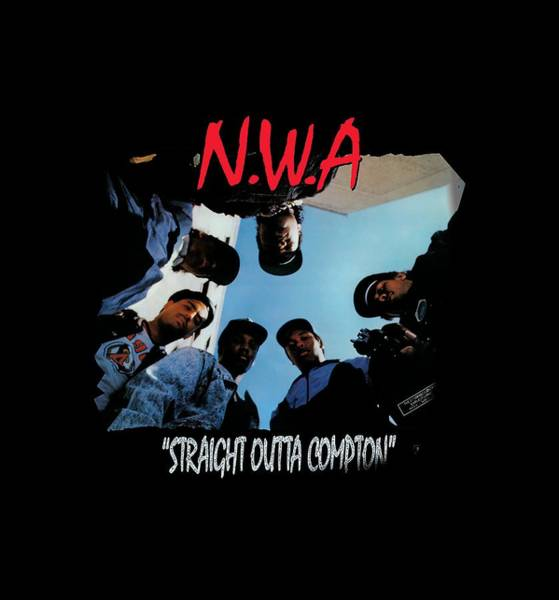 Trailer Drawing - Straight Outta Compton by Hill Ourf