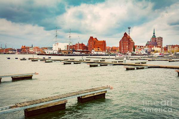 Wall Art - Photograph - Stralsund, Germany. Old Hanseatic City by Michal Bednarek