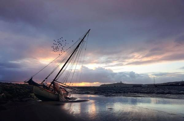Photograph - Stranded During The Last Storm by Peter Thoeny