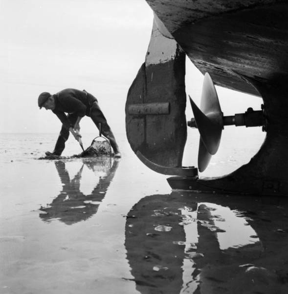 Fishing Boat Photograph - Stranded by John Drysdale