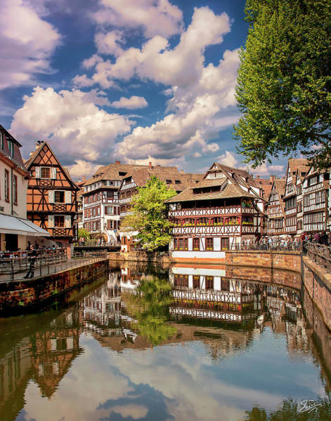 Photograph - Strasbourg Center by Endre Balogh