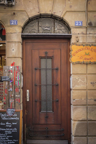 Wall Art - Photograph - Strasbourg Door 10 by Teresa Mucha