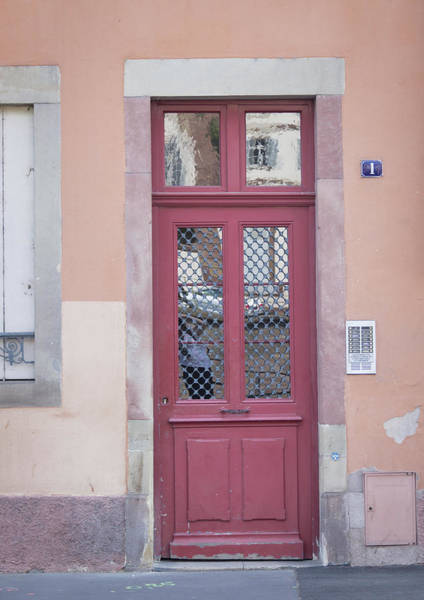 Wall Art - Photograph - Strasbourg Door 16 by Teresa Mucha