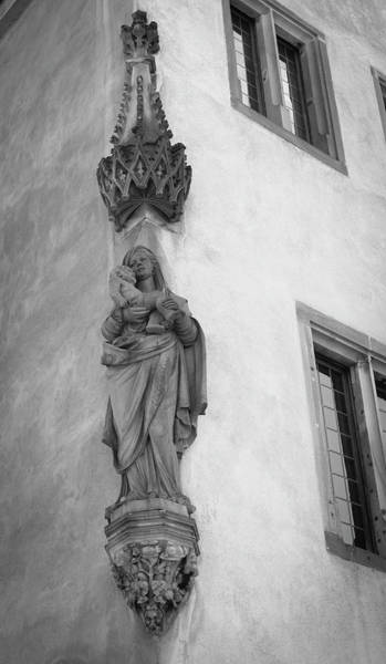 Wall Art - Photograph - Strasbourg House Madonna by Teresa Mucha