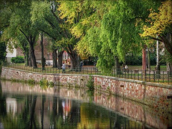 Surroundings Photograph - Strasbourg Park by Michael Kitromilides
