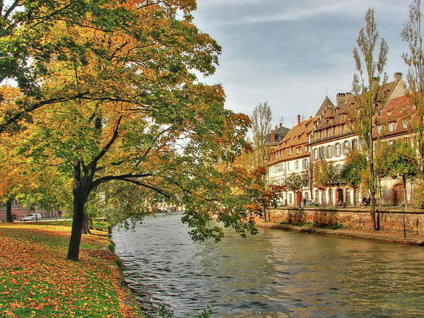 River Ill Wall Art - Photograph - Strasbourg River by Michael Kitromilides