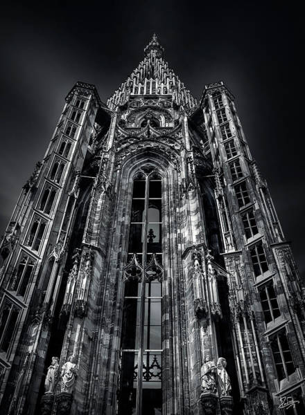 Photograph - Strasbourg Spire by Endre Balogh