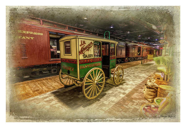 Wall Art - Photograph - Strasburg Pa Train Museum by George Moore