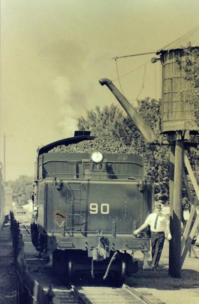Wall Art - Photograph - Strasburg Railroad Circa 1985 by Mike Martin
