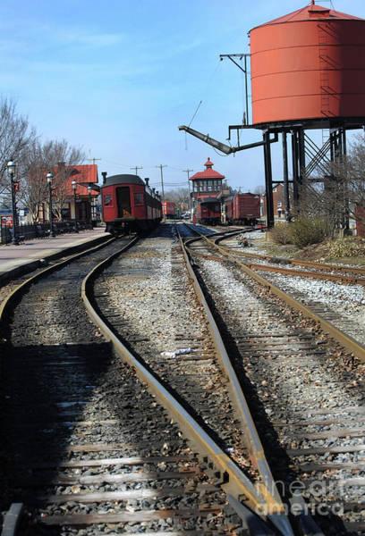 Rr Photograph - Strasburg Train Station by Skip Willits