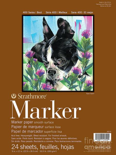 Painting - Strathmore 400 Series Marker Pad by STRATHMORE Artist Papers