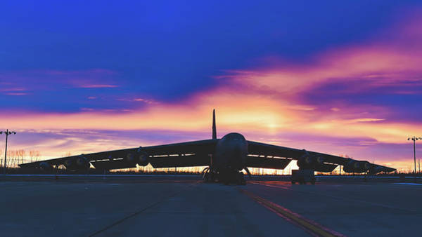 Wall Art - Photograph - Stratofortress At Sunrise by USAF Jonathan McEldberry