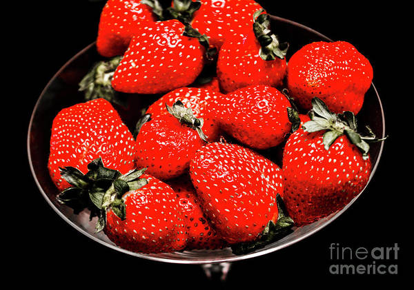 Wall Art - Photograph - Strawberry Cocktail by Jorgo Photography - Wall Art Gallery